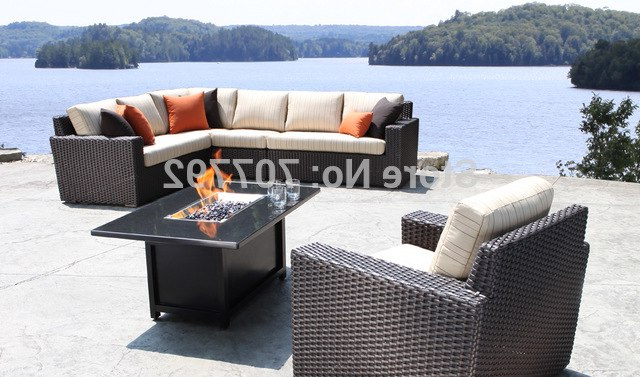 Popular Haven Sofa Chairs Intended For 2017 New Furniture Outdoor Haven Sectional Wicker Patio Sofa (View 15 of 20)