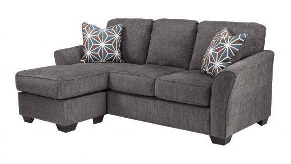 Popular Mcdade Graphite Sofa Chairs In Couch With Chaise Amazing Home Design (View 18 of 20)