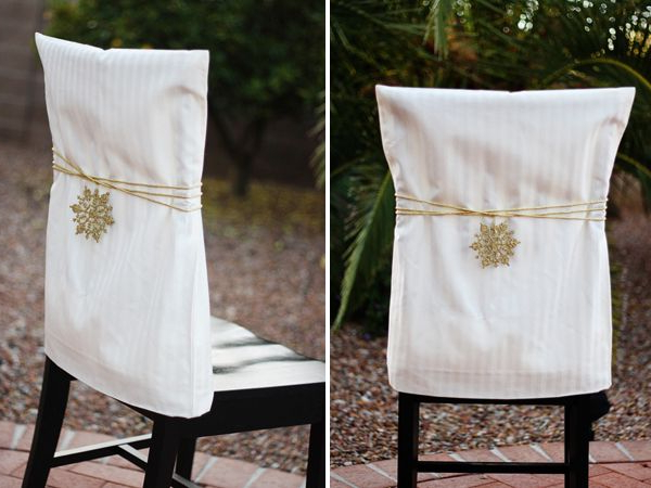 Popular Ridiculously Easy! Use Pillowcases As Chair Slipcovers (View 16 of 20)