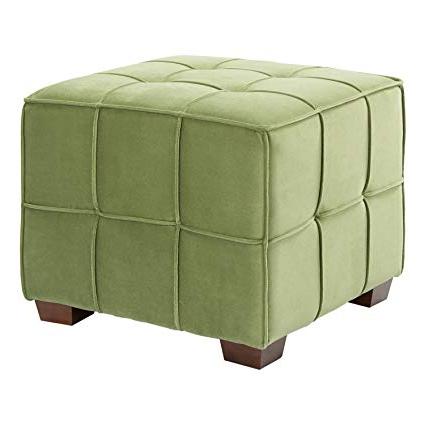 Popular Sheldon Oversized Sofa Chairs Inside Amazon: Ave Six Sdn V9 Sheldon Tufted Ottoman: Kitchen & Dining (View 18 of 18)