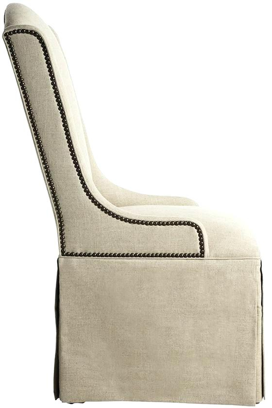 Popular Skirted Wingback Chair Bailey Flare Arm Wing Skirted Swivel Glider For Bailey Linen Flare Arm Wing Skirted Swivel Gliders (View 14 of 20)