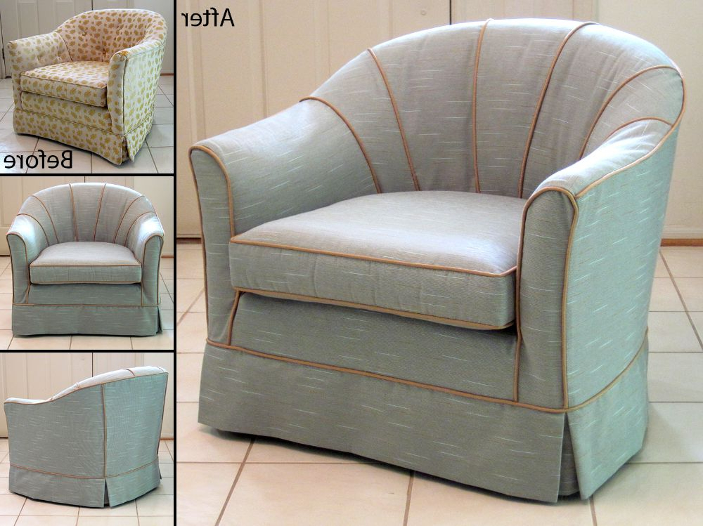 Popular Slipcovers For Chairs And Sofas For Slipcovered Barrel Back Chair (View 13 of 20)
