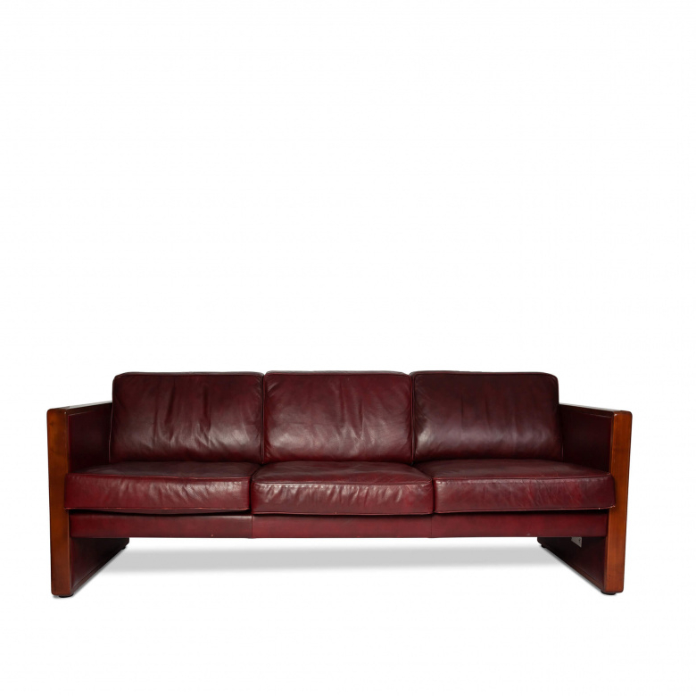 Popular Vintage Walter Knoll Leather Sofa Inside Walter Leather Sofa Chairs (View 5 of 20)
