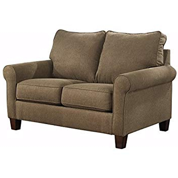 Preferred Allie Dark Grey Sofa Chairs Intended For Amazon: Ashley Furniture Signature Design – Zeth Sleeper Sofa (View 5 of 20)