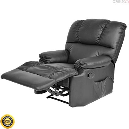 Preferred Amazon: Colibrox–recliner Massage Sofa Chair Deluxe Ergonomic Throughout Sofa Chair Recliner (View 13 of 20)
