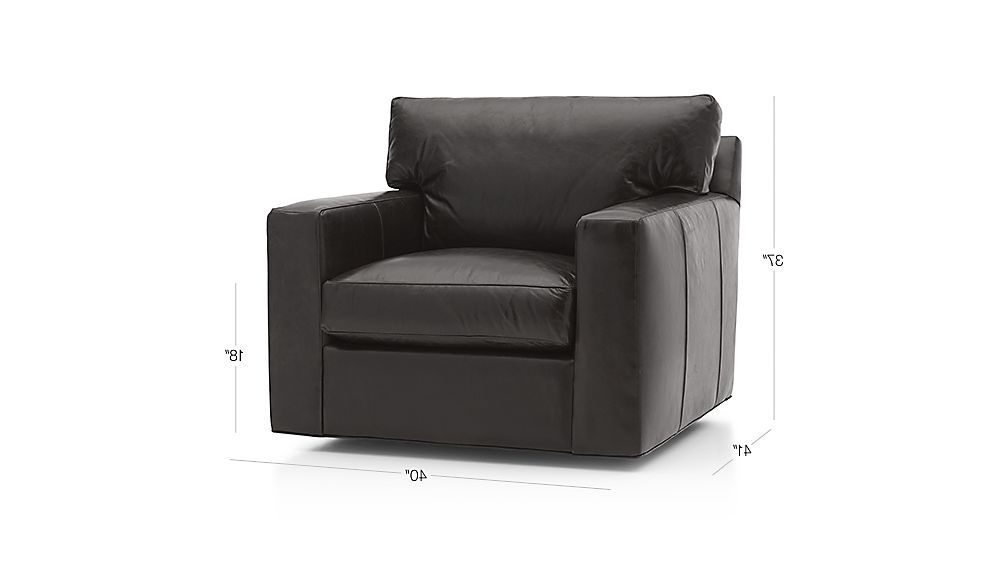 Preferred Axis Ii Leather Swivel Chair (View 17 of 20)