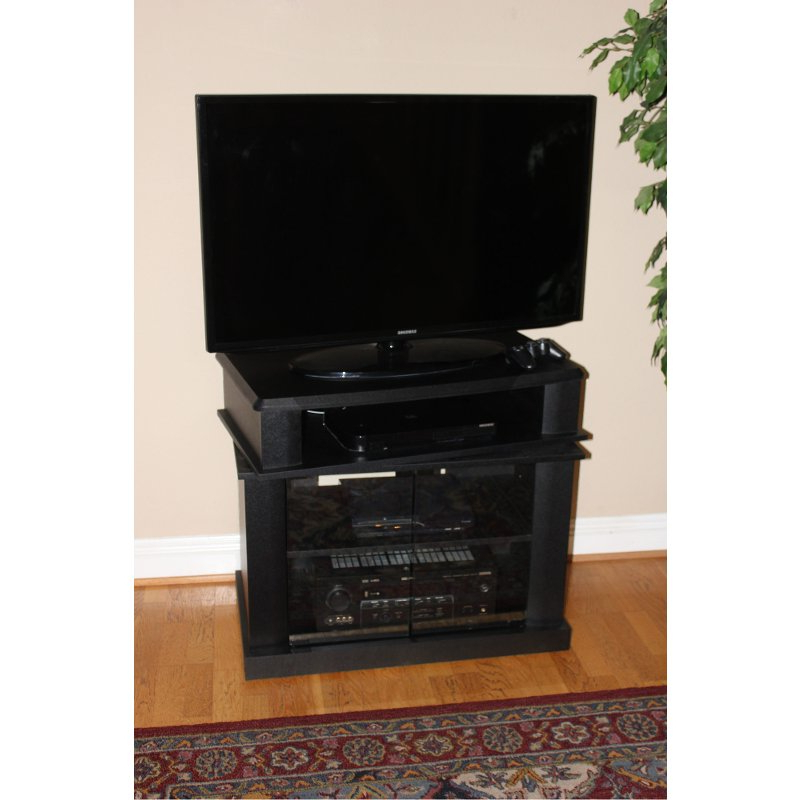 Preferred Black Swivel Top 32 Inch Tv Stand – Maren (View 8 of 20)