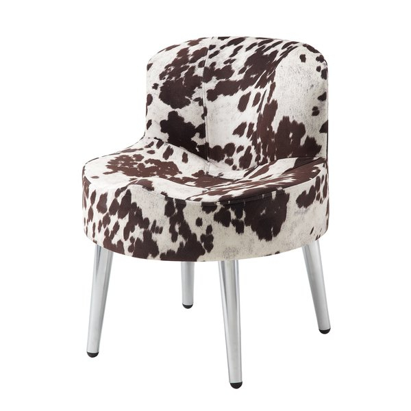Preferred Circuit Swivel Accent Chairs Within Shop Tribecca Home Bridgeport Ergonomic Contour Cowhide Fabric (View 16 of 20)