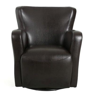 Preferred Home Loft Concepts Nikolas Swivel Club Chair Color: (View 2 of 20)
