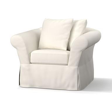 Preferred Katrina Grey Swivel Glider Chairs Regarding Soma Katrina Ottoman Slipcover, Performance Slub Cotton Metal Gray (View 5 of 20)