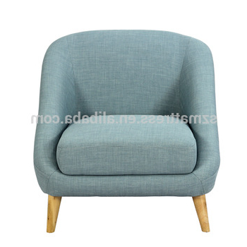 Preferred Modern Fabric One Seat Single Sofa Chair,low Price One Seat Sofa Throughout Cheap Sofa Chairs (View 18 of 20)