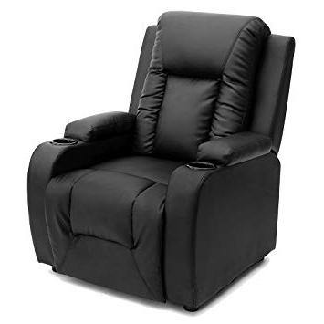 Preferred Sofa Chair Recliner Throughout More4homes Oscar Bonded Leather Recliner W Drink Holders Armchair (View 17 of 20)