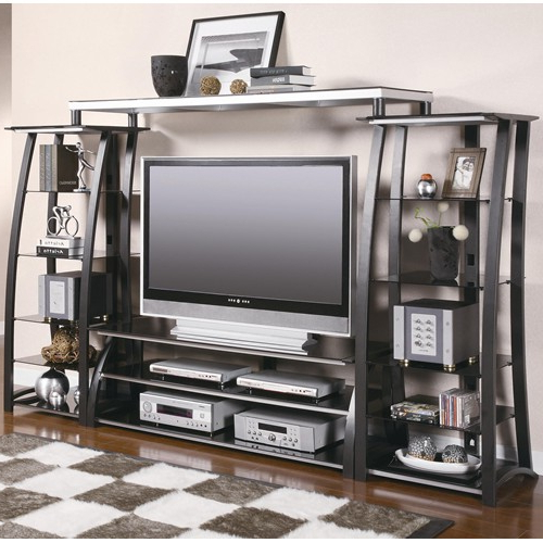 Preferred Wall Units 60 Inch Tv Stand With Shelves – Shop For Affordable Home With 60 Inch Tv Wall Units (View 16 of 20)