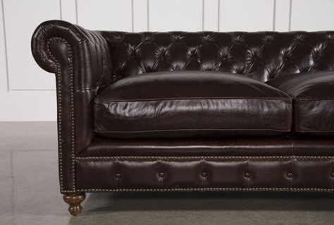 Featured Photo of Mansfield Cocoa Leather Sofa Chairs