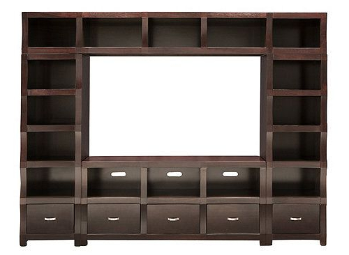 Recent 60 Inch Tv Wall Units Intended For Lakewood 4 Pc (View 18 of 20)