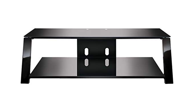 "Recent Bell O Triple Play Tv Stands Regarding Bell'o Tp4452 Triple Play 52"" Tv Stand For Tvs Up To 60"", Black (View 17 of 20)"