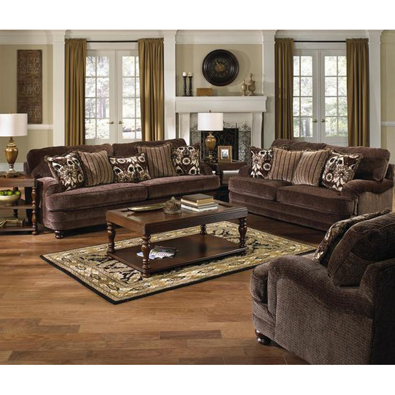 Recent Brennan Sofa Chairs With Jackson Furniture Sofas Brennan 4438 03 (Espresso) (Stationary) From (View 16 of 20)