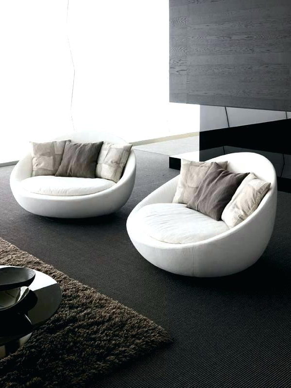 Recent Designer Chairs For Living Room Cool Round Sofa Chair Living Room For Round Sofa Chair Living Room Furniture (Gallery 1 of 20)