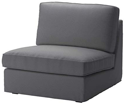 Recent Ikea Sofa Chairs Within Amazon: Cotton Ikea Kivik Chair Cover Replacement (View 14 of 20)