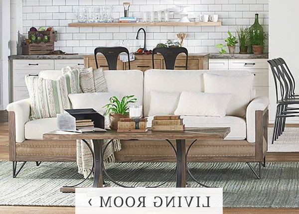 Recent Magnolia Homejoanna Gaines At Living Spaces Regarding Magnolia Home Paradigm Sofa Chairs By Joanna Gaines (View 11 of 20)