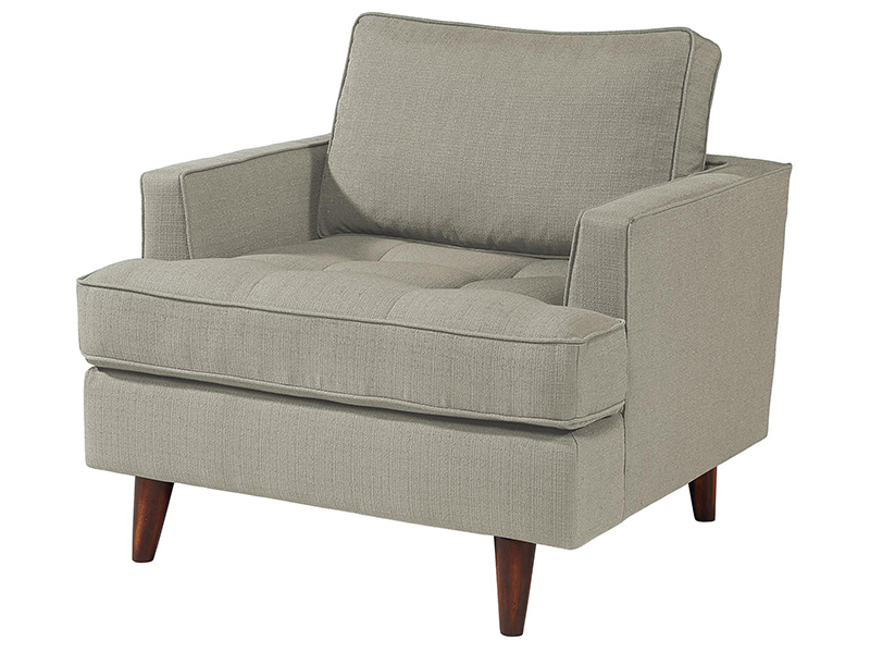 Recent Mid Century Modern Seagull Chair And Ottomanmagnolia Home Intended For Magnolia Home Dapper Fog Sofa Chairs (View 15 of 20)