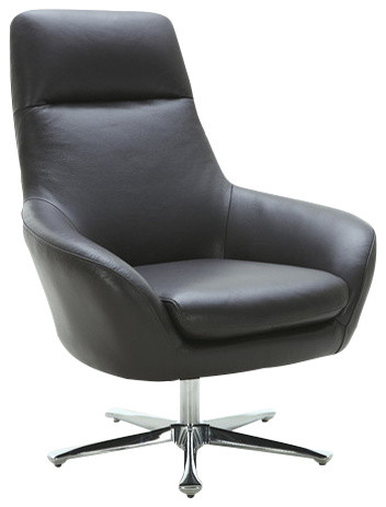 Recent Navis Swivel Chair With Brushed Nickel Base – Armchairs And Accent With Nichol Swivel Accent Chairs (View 16 of 20)