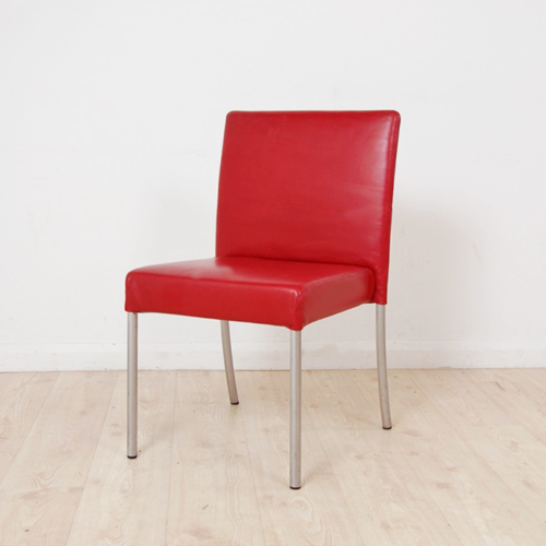 Red Dining Chair With Walter Leather Sofa Chairs (View 14 of 20)