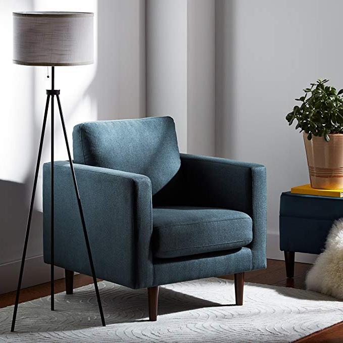Rivet Revolve Modern Accent Chair (View 7 of 20)