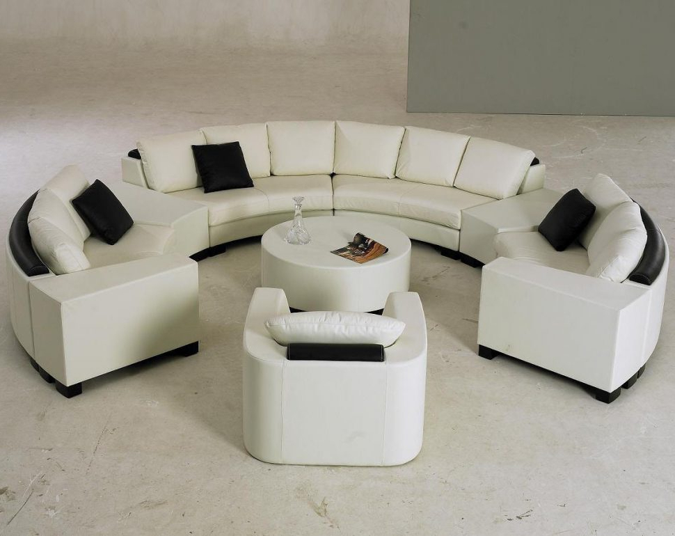 Round Sofa Chair Living Room Furniture Intended For Most Up To Date Living Room : Round Sofa Chair Round Sofa Chair Circular Sectional (Gallery 4 of 20)