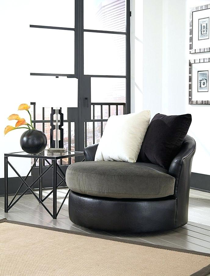 Round Sofa Chair Living Room Furniture With Regard To Most Current Accent Sofa Chair – Jjaglo (Gallery 18 of 20)