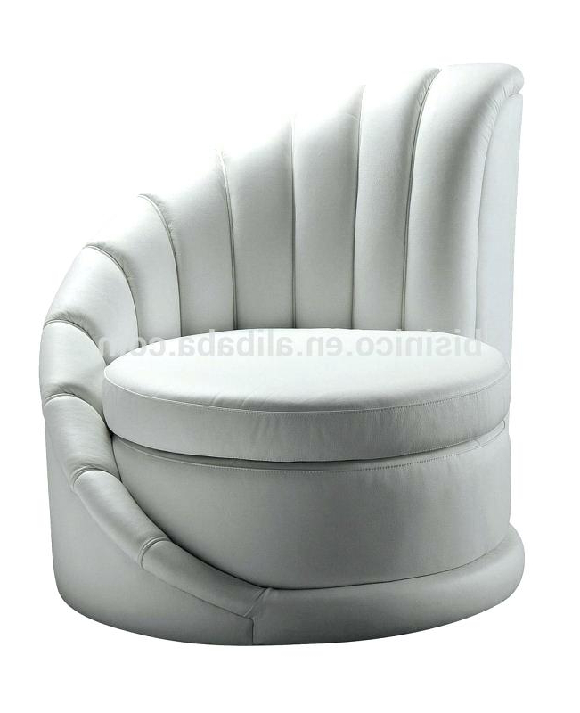 Round Sofa Chairs Inside Trendy Round Sofa Chair Cream Swivel Chair Sofa Furniture Ikea – Spec2k (View 12 of 20)