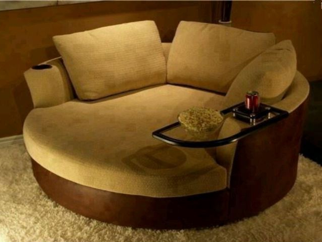 Featured Photo of Round Sofa Chairs