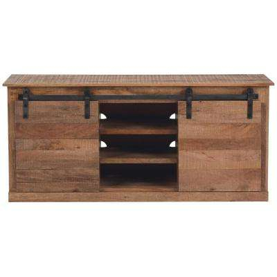 Rustic – Tv Stands – Living Room Furniture – The Home Depot In Most Up To Date 24 Inch Corner Tv Stands (Gallery 20 of 20)