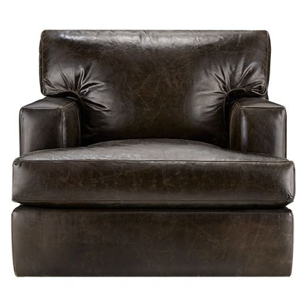 "Sawyer 39"" Leather Swivel Chair In Libby Espresso 39""w X 40""d X 36""h Within Favorite Espresso Leather Swivel Chairs (View 19 of 20)"