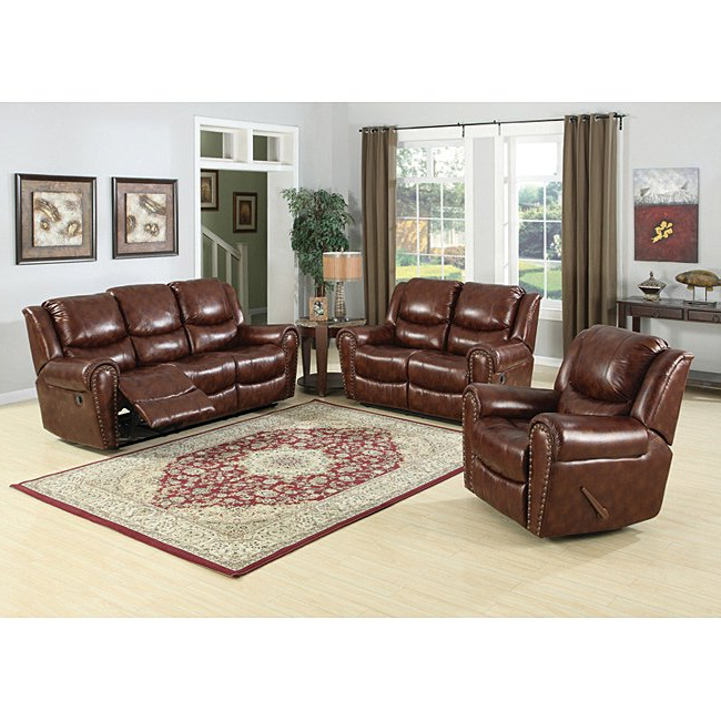 Sheldon Oversized Sofa Chairs Inside Favorite Shop Sheldon Brown Sofa And Loveseat Set – Free Shipping Today (View 2 of 18)