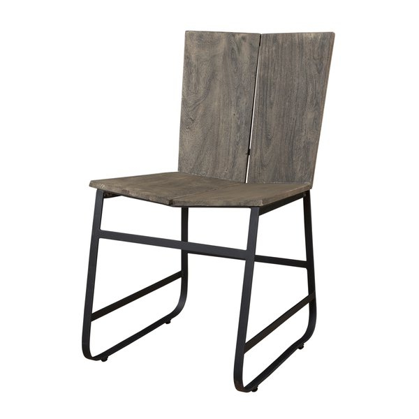 Shop Treasure Trove Tundra Smokey Grey Dining Chairs (set Of 2 Inside Well Known Loft Smokey Swivel Accent Chairs (View 10 of 20)