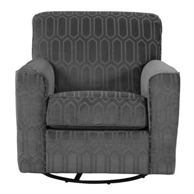 Signature Design Accent Chairs Zarina 9770442 (swivel) From Tc With Current Nichol Swivel Accent Chairs (View 13 of 20)
