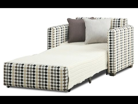 Single Sofa Bed Chair – Youtube Intended For Best And Newest Single Chair Sofa Bed (View 16 of 20)