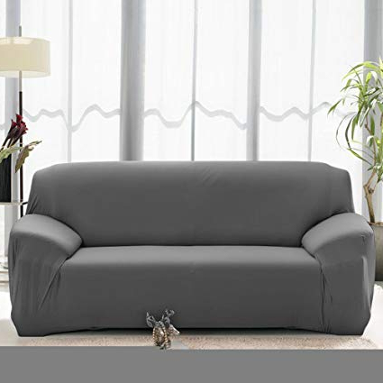 Sofa And Chair Covers With Newest Amazon: Stretch Seat Chair Covers Couch Slipcover Sofa Loveseat (View 11 of 20)