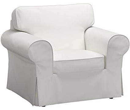 Sofa And Chair Covers With Regard To Newest Amazon: The Dense Cotton Ektorp Chair Cover Replacement Is (View 13 of 20)
