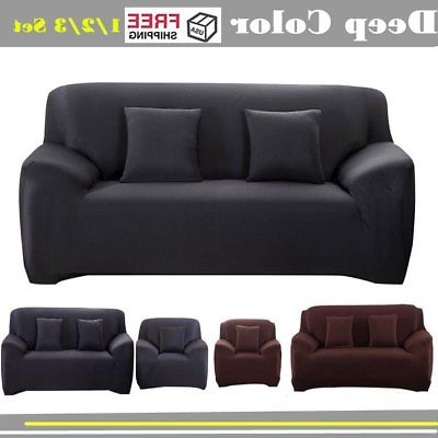Sofa And Chair Covers Within Popular Stretch Slipcover Recliner, Couch Cover, Sofa Chair Cover, Furniture (View 15 of 20)