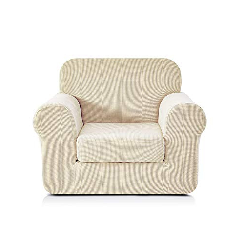 Sofa And Chair Slipcovers Regarding Latest Living Room Chair Slipcovers: Amazon (View 14 of 20)