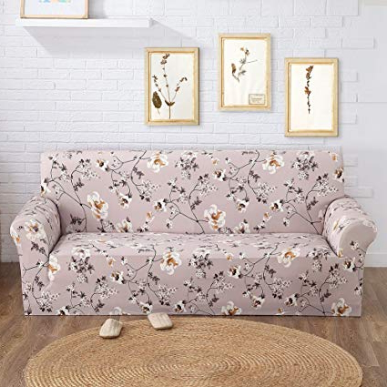 Sofa And Chair Slipcovers Within Best And Newest Amazon: Jian Ya Na Elastic Sofa Covers Sofa Slipcover,plain (View 19 of 20)