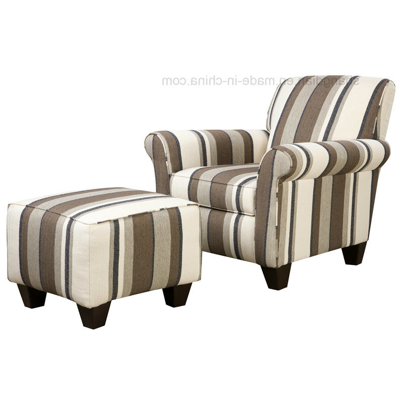 Sofa Chair With Ottoman For Most Recently Released China Luxury Hotel Living Room Sofa Single Sofa Chair With Ottoman (View 16 of 20)