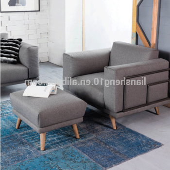 Sofa Chair With Ottoman In Popular Waiting Room Single Sofa Chair With Ottoman – Buy Single Sofa Chair (View 17 of 20)