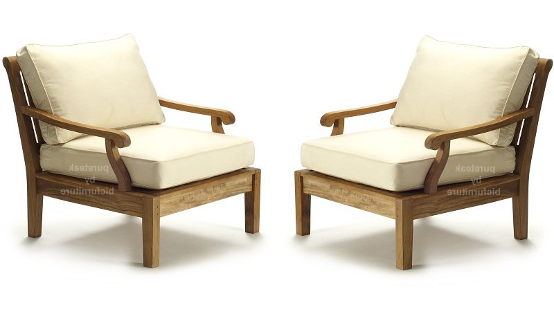 Sofa Chairs Regarding Most Recently Released Teakwood Chairs Made With Round Arms On Both Sides (View 17 of 20)