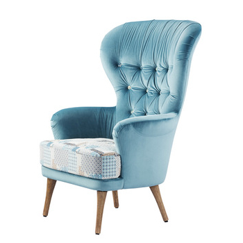Sofa Chairs Throughout Well Known Modern High Back Wing Chair Single Seater Sofa Chairs High Back (View 7 of 20)