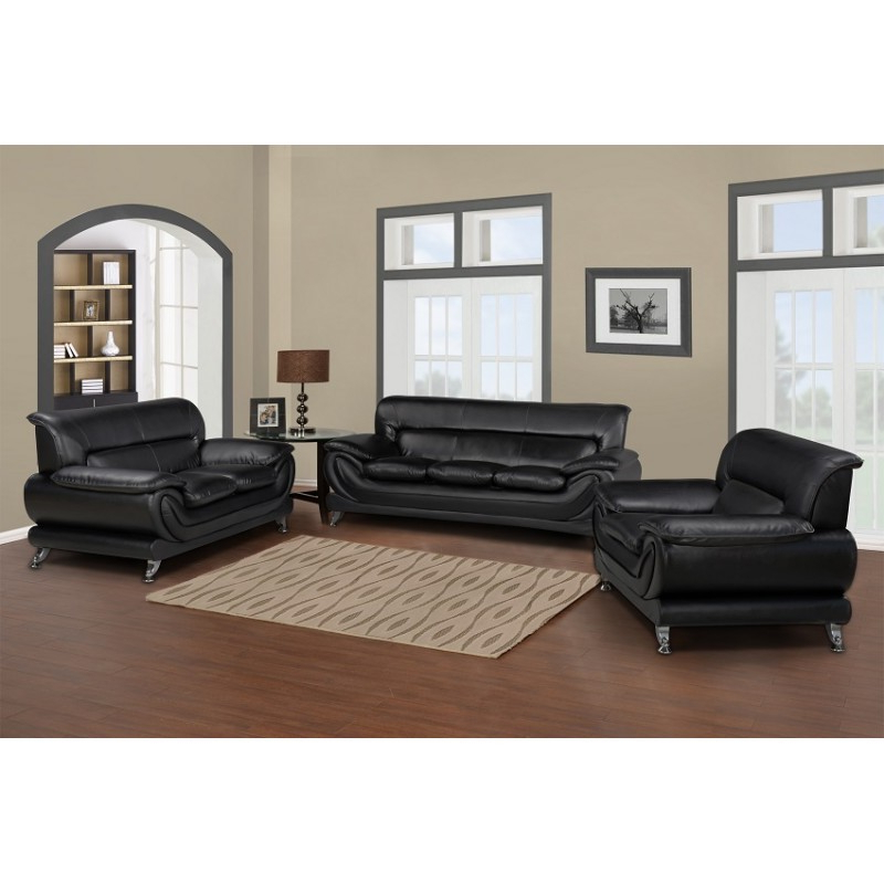 Sofa Loveseat And Chairs For Popular Contemporary & Luxury Furniture; Living Room, Bedroom,la Furniture (View 16 of 20)