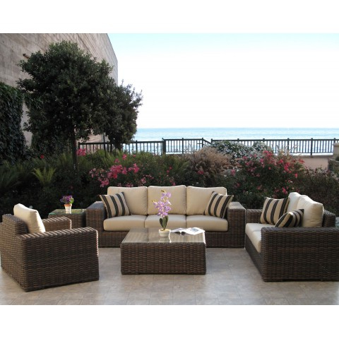 Sofa Loveseat And Chairs With Regard To Most Recently Released Gerona Resin Wicker Sofa & Loveseat Set (View 18 of 20)