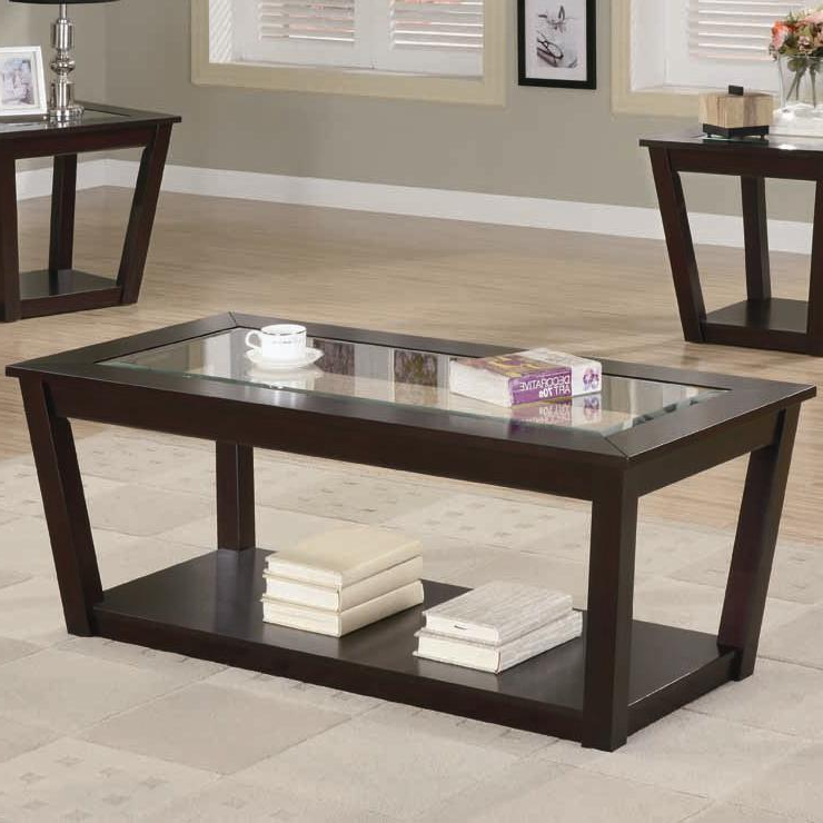 Sofa Table With Chairs Intended For 2018 Brown Wood Coffee Table Set – Steal A Sofa Furniture Outlet Los (View 12 of 20)